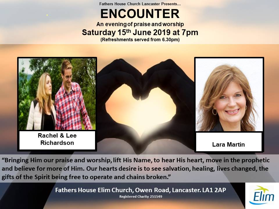 'Encounter' with special guest, Lara Martin